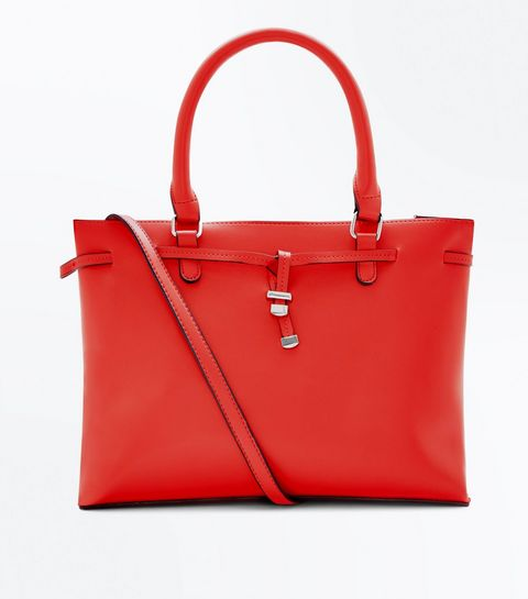 New Look Red tote Bag