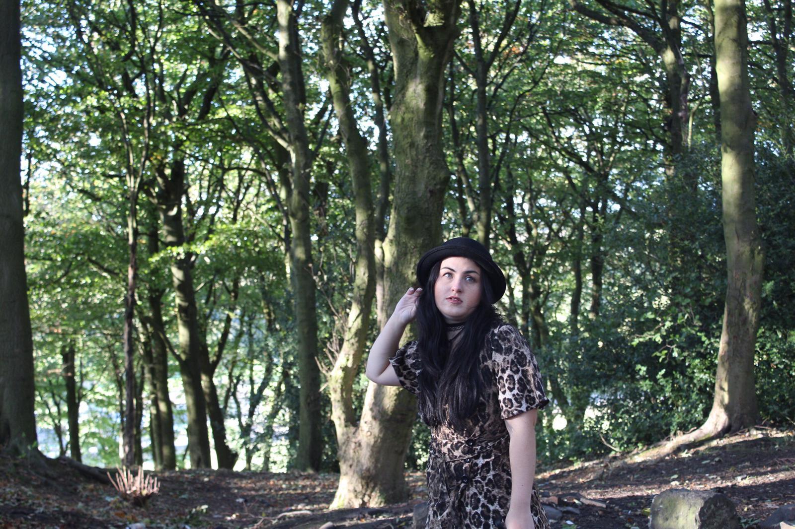 OOTD – Leoaprd print Dress 2