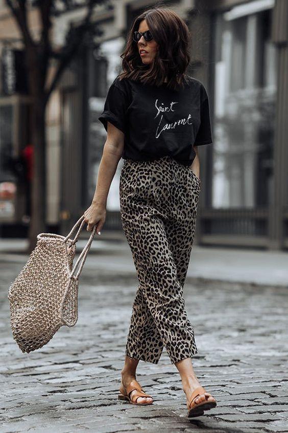 Leopard Print Trousers – Summer stye