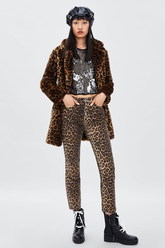 Leopard Print Trousers – jeans
