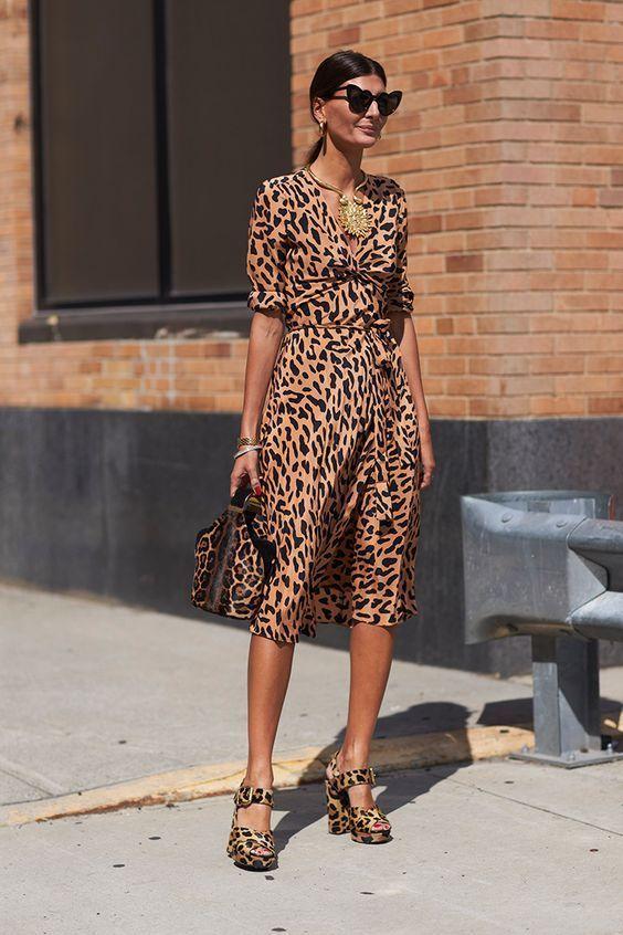 Leopard print Head to Toe – Dress